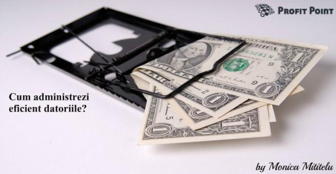 Cum administrezi eficient datoriile?