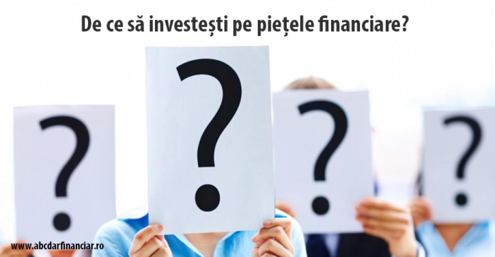 investiții pe piețele financiare)